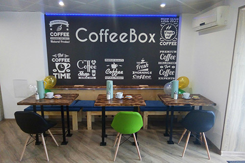 Coffee Box, кофейня